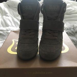 Ash grey sneakers